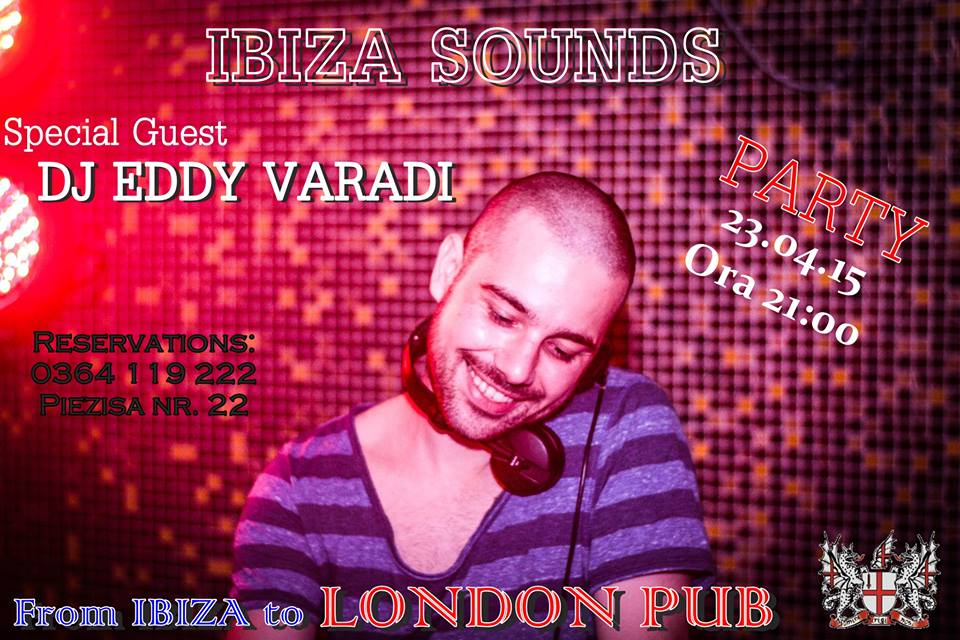 Ibiza Sounds Party @ London Pub
