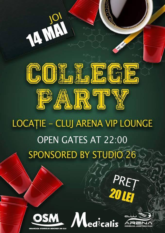 Medicalis College Party @ Cluj Arena