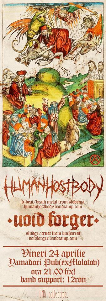 Concert HumanHostBody @ Molotov Pub
