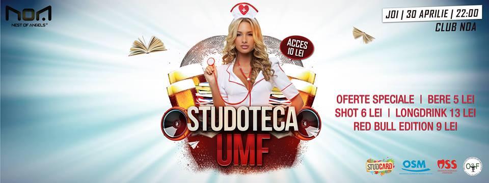 Studoteca UMF @ Club Noa