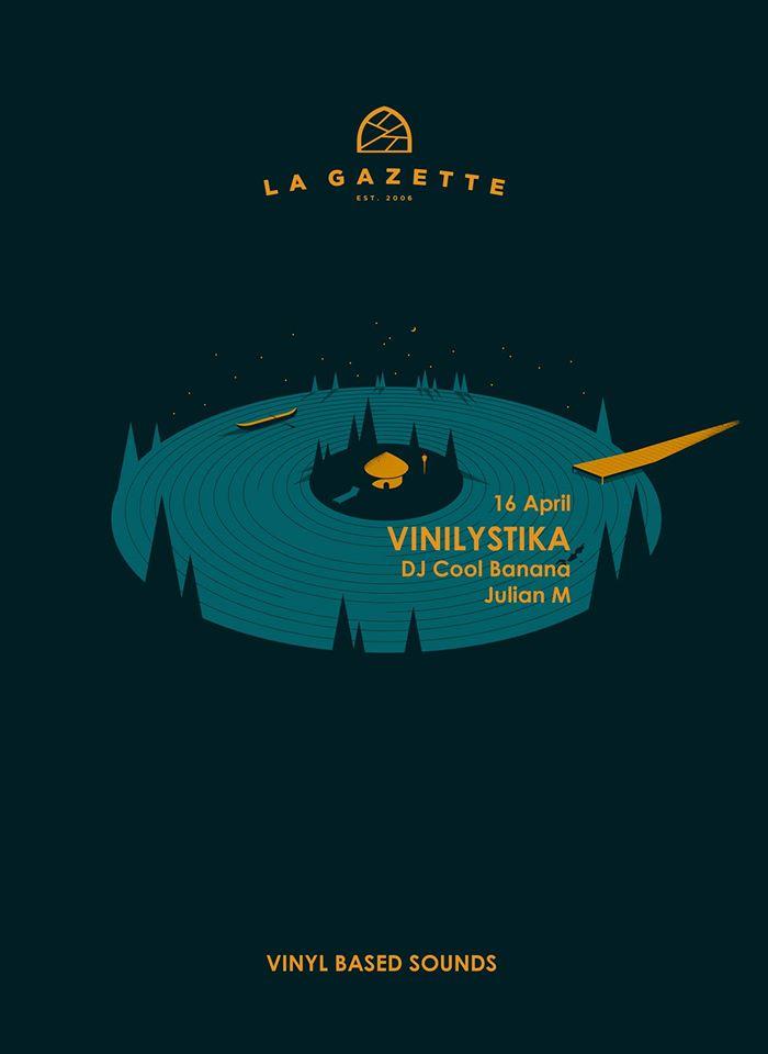 Vinylistika @ La Gazette