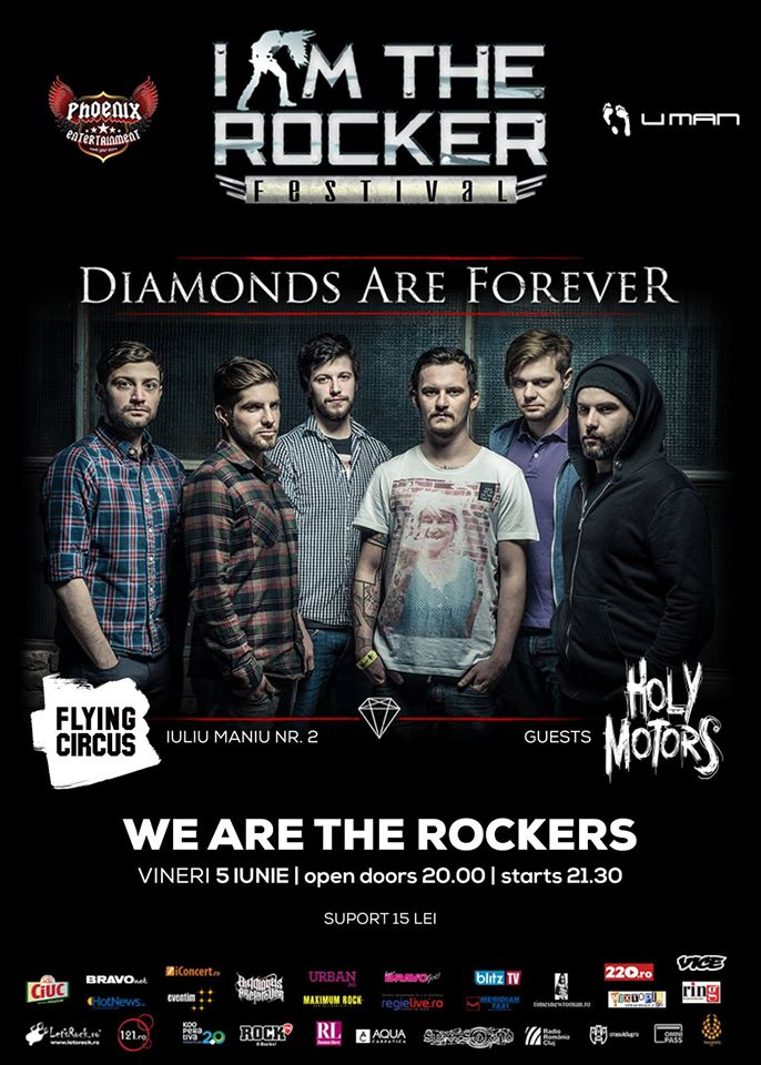 I am the rocker: Diamonds Are Forever @ Flying Circus Pub