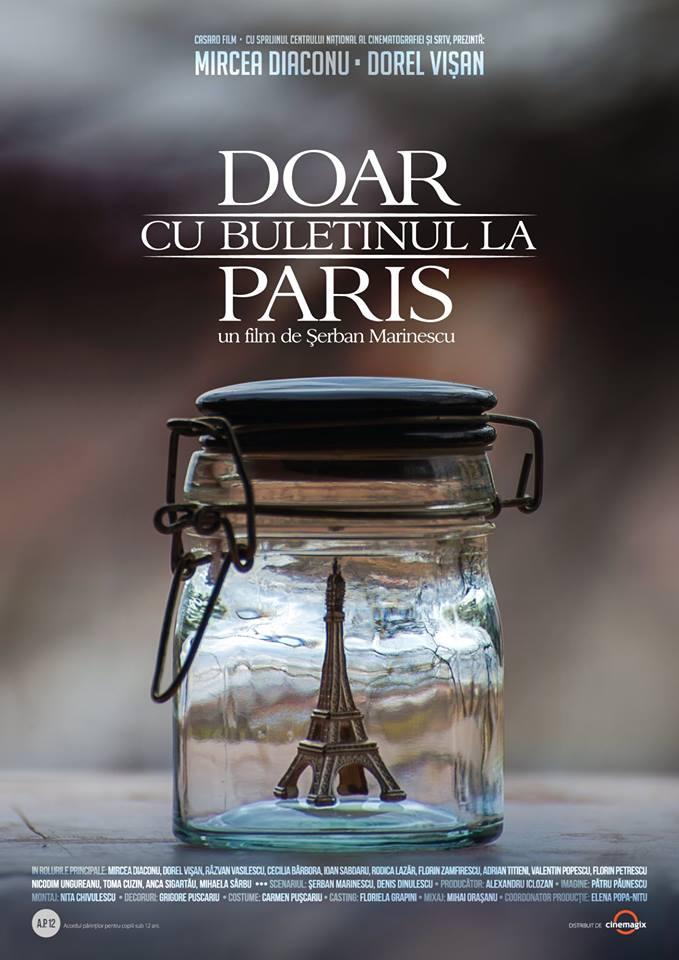 """Spectacol de gală """"Doar cu buletinul la Paris"""""""