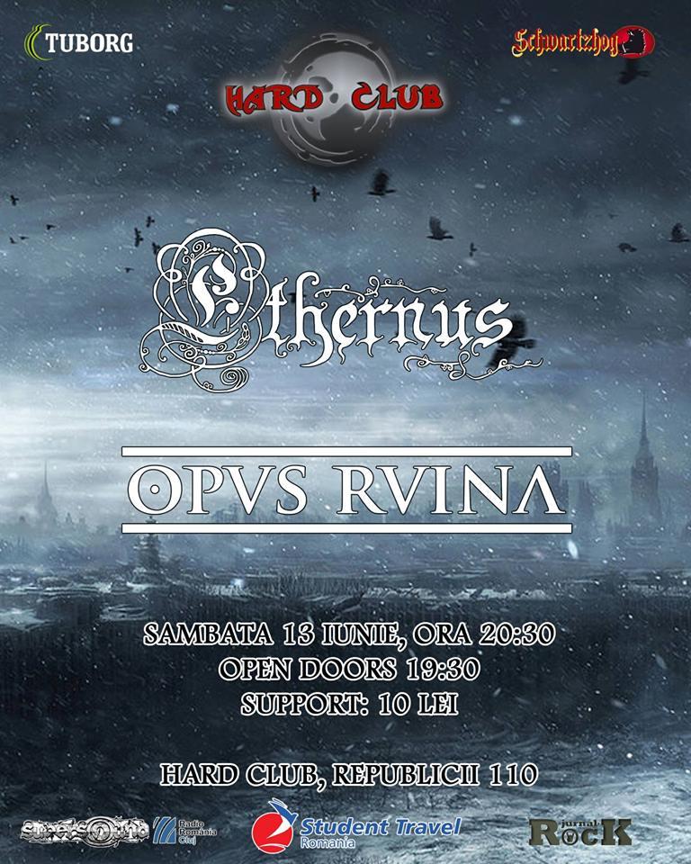 Concert Ethernus / Opus Ruina @ Hard Club