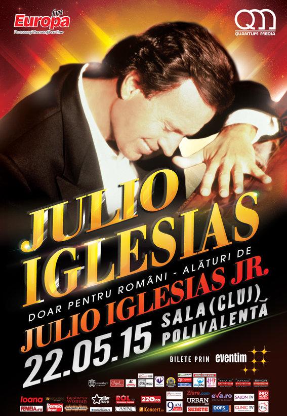 Au fost suplimentate biletele pentru concertul Julio Iglesias