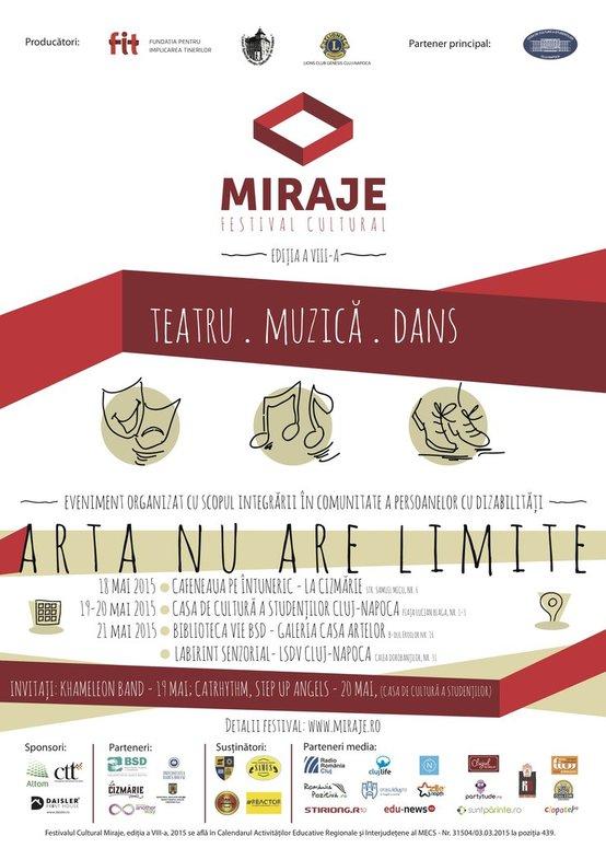 Festivalul Cultural Miraje – ediția a VIII-a
