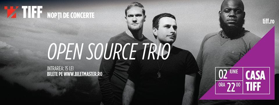 Open Source Trio @ Casa TIFF