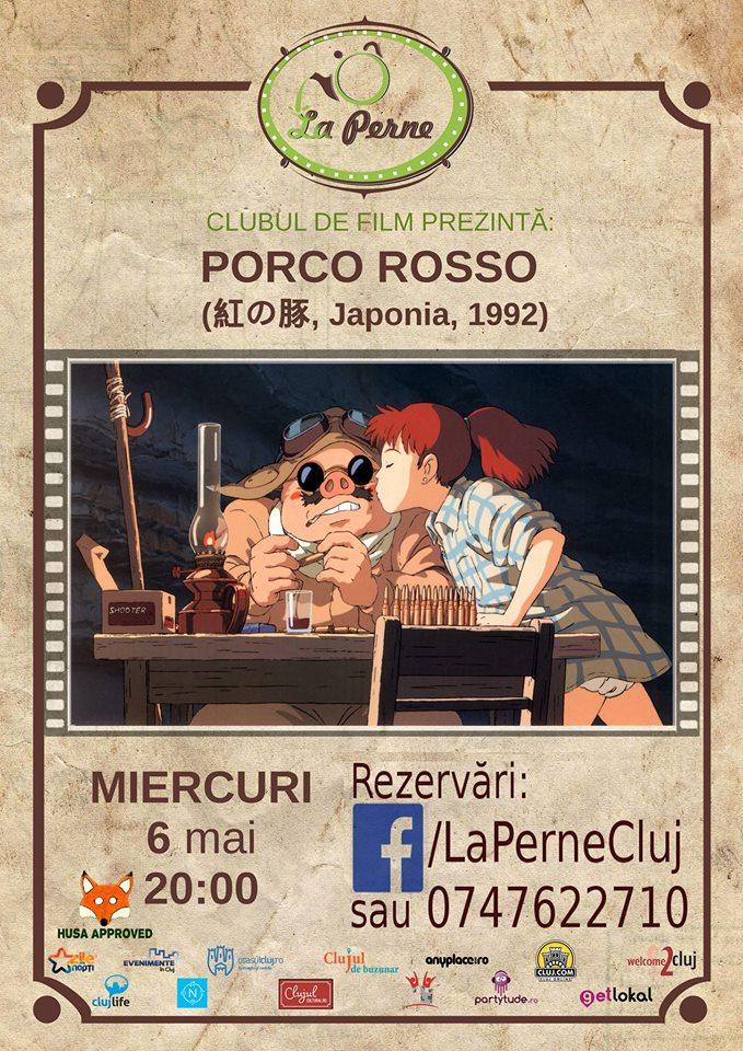 Clubul de film – Porco Rosso @ La Perne