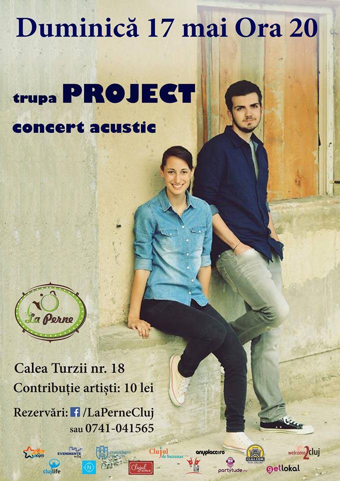 Concert acustic Project @ La Perne
