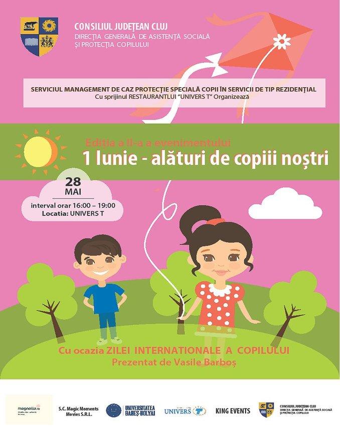 1 iunie alături de copiii noștri