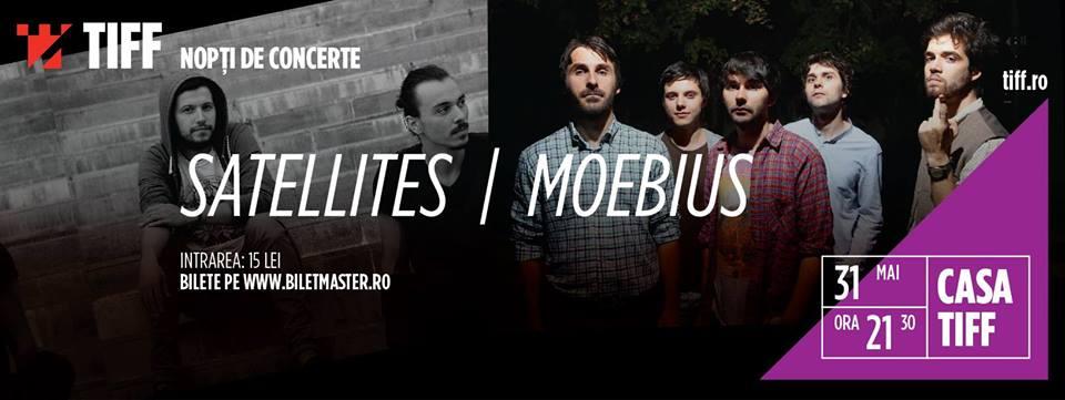 Moebius și Satellites @ Casa TIFF