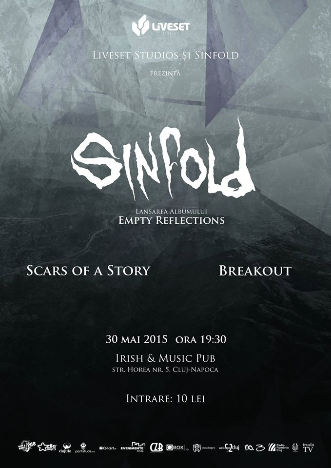 "Sinfold – lansare ""Empty Reflections"" @ Irish & Music Pub"
