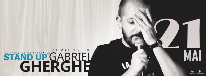 Stand Up cu Gabriel Gherghe @ Le Parisien