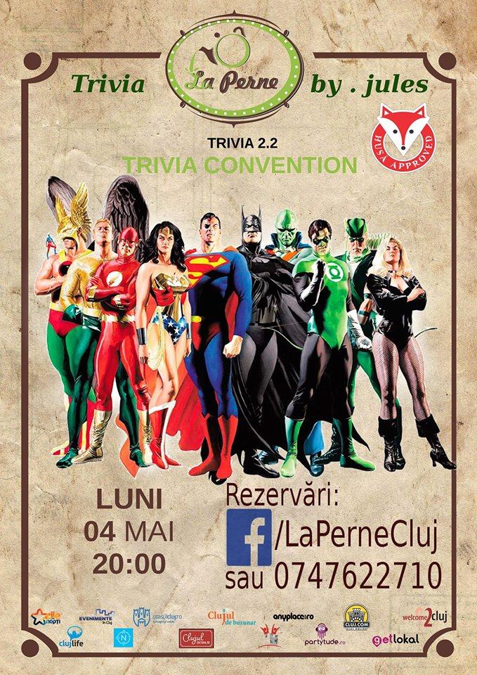 Trivia 2.2 Convention @ La Perne