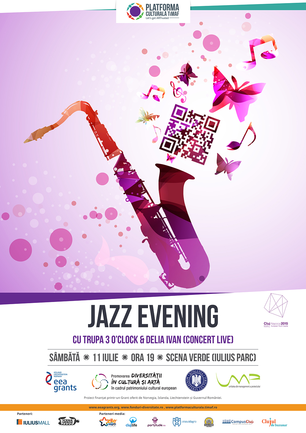 Jazz Evening @ Scena Verde – Iulius Parc