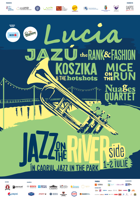 Riverside Stage la Jazz in the Park