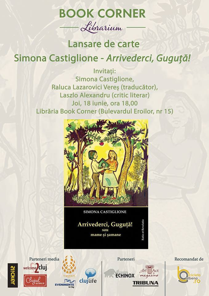 Lansare de carte – Simona Castiglione