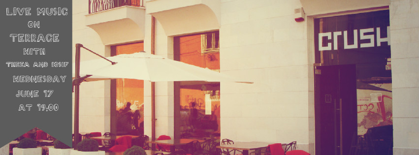 Live Music on Terrace @ Crush Wine Bar
