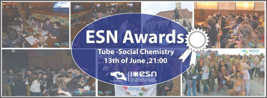 Erasmus Awards @ Tube – Social Chemistry