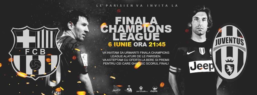 Finala Champions League @ Le Parisien