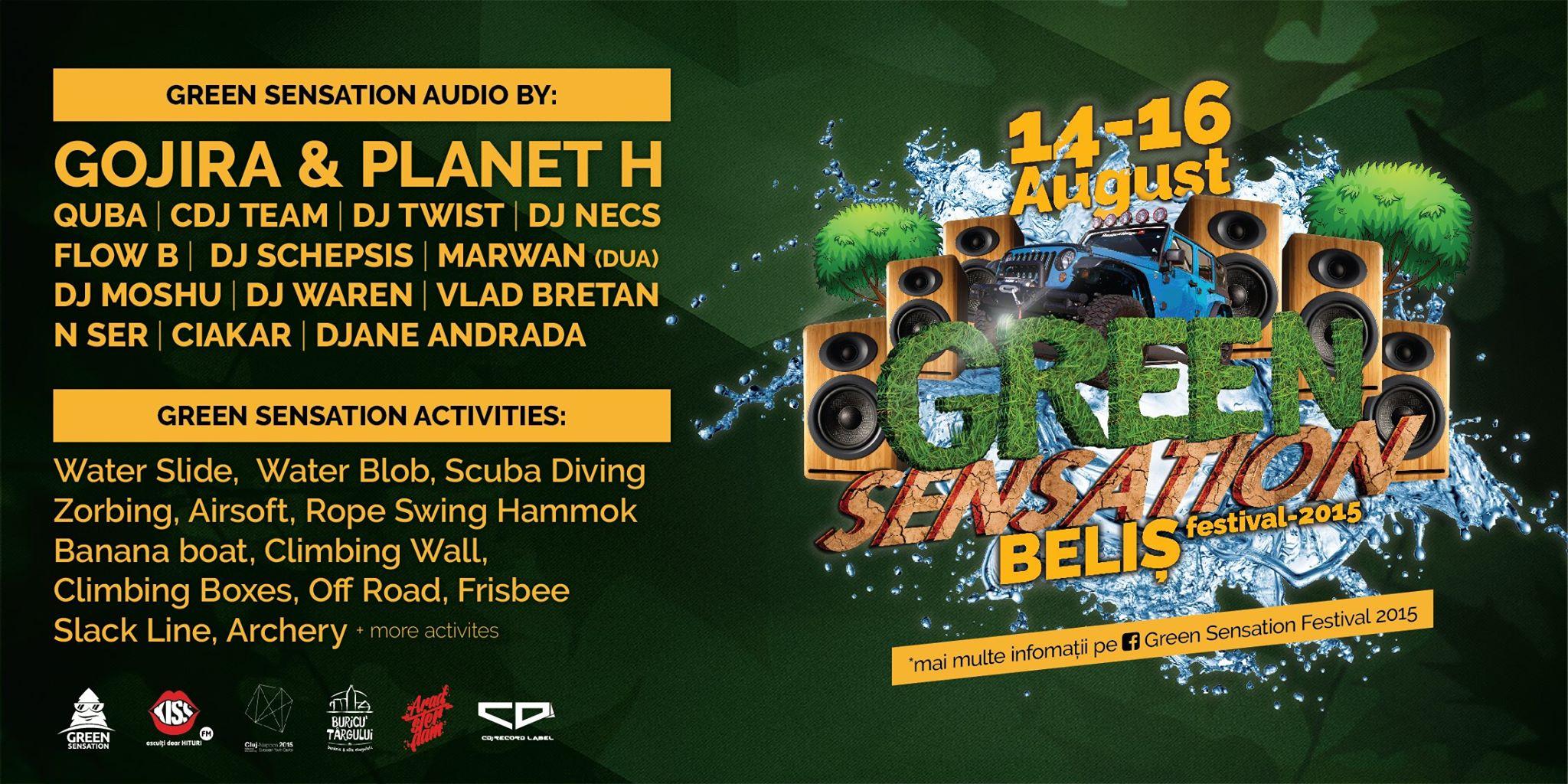 Green Sensation Festival 2015