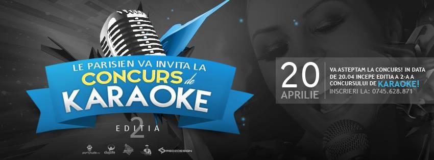 Concurs de Karaoke @ Le Parisien Cafe