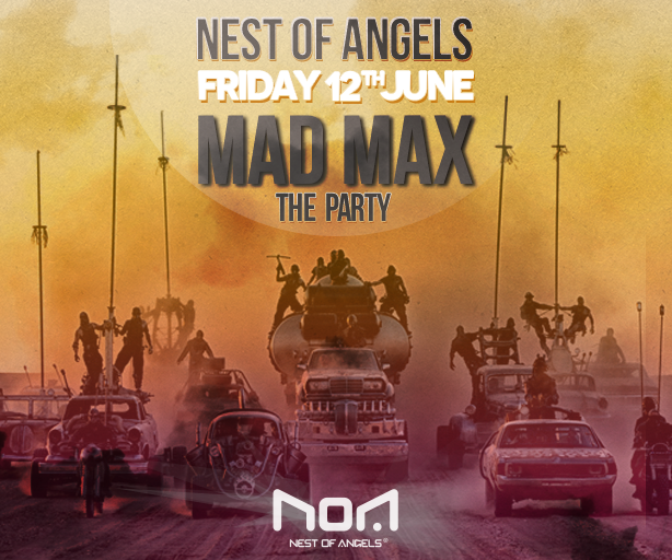 Mad Max – The Party @ Club Noa