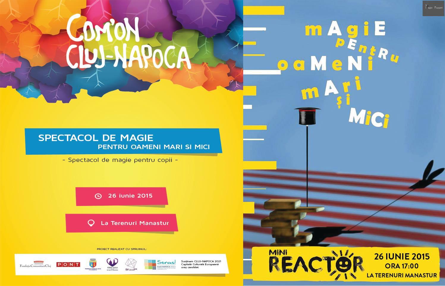 Magie pentru oameni mari și mici @ La Terenuri Mănăștur