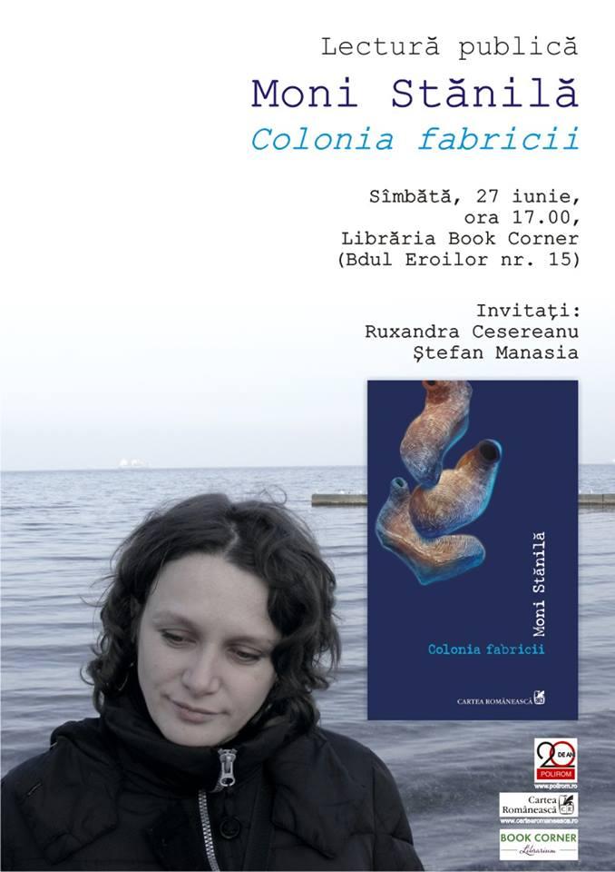 Moni Stănilă @ Book Corner