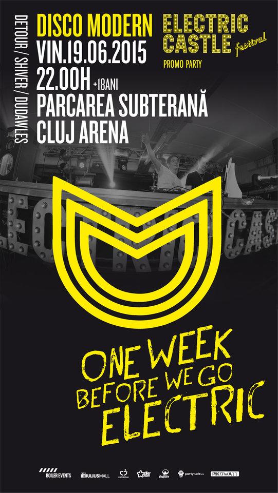 Disco Modern @ Cluj Arena
