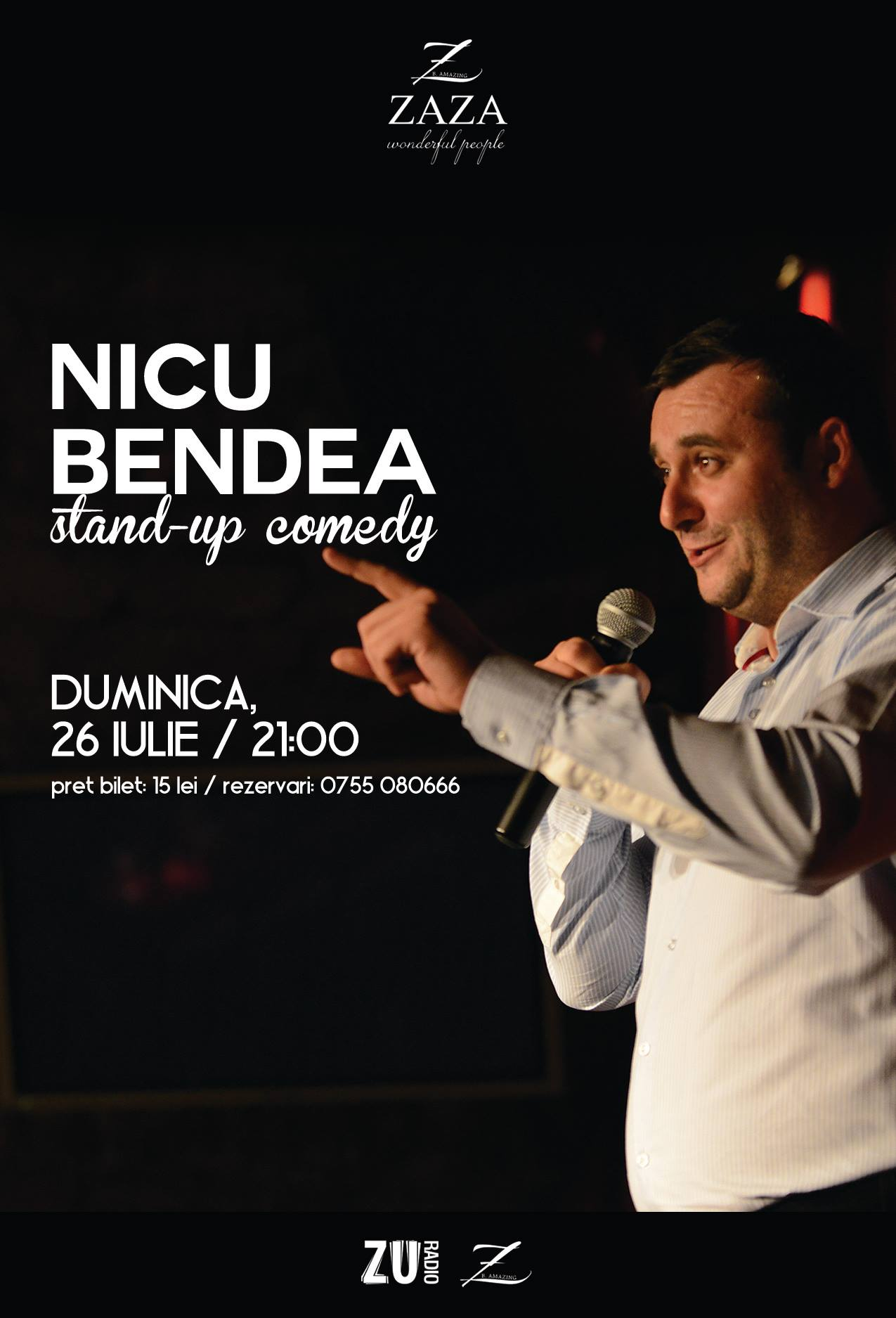Nicu Bendea @ Zaza Cafe