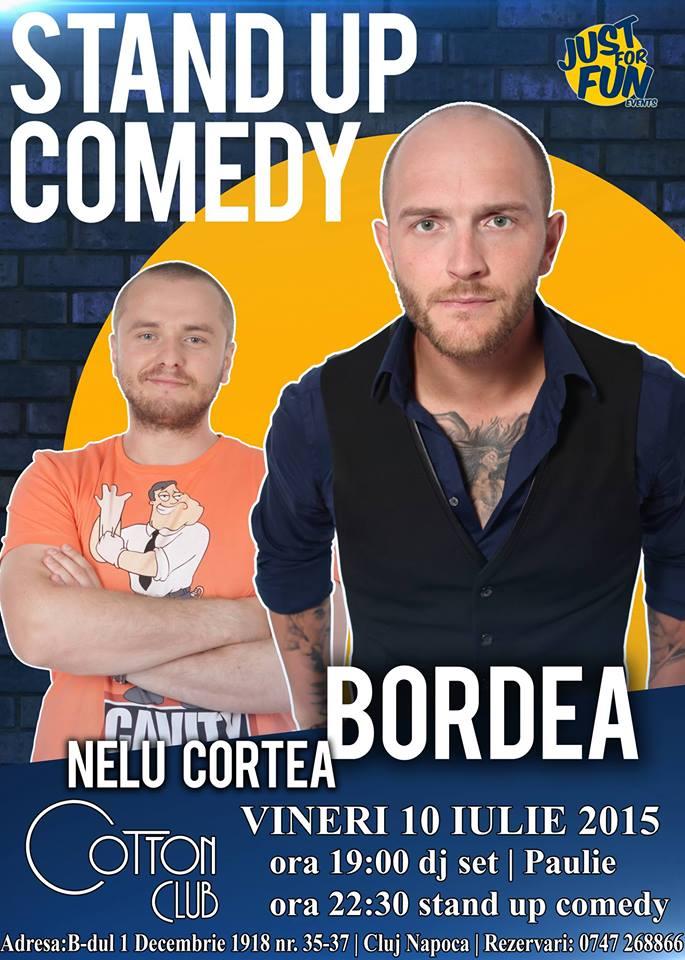 Stand-up: Bordea & Cortea @ Cotton Club