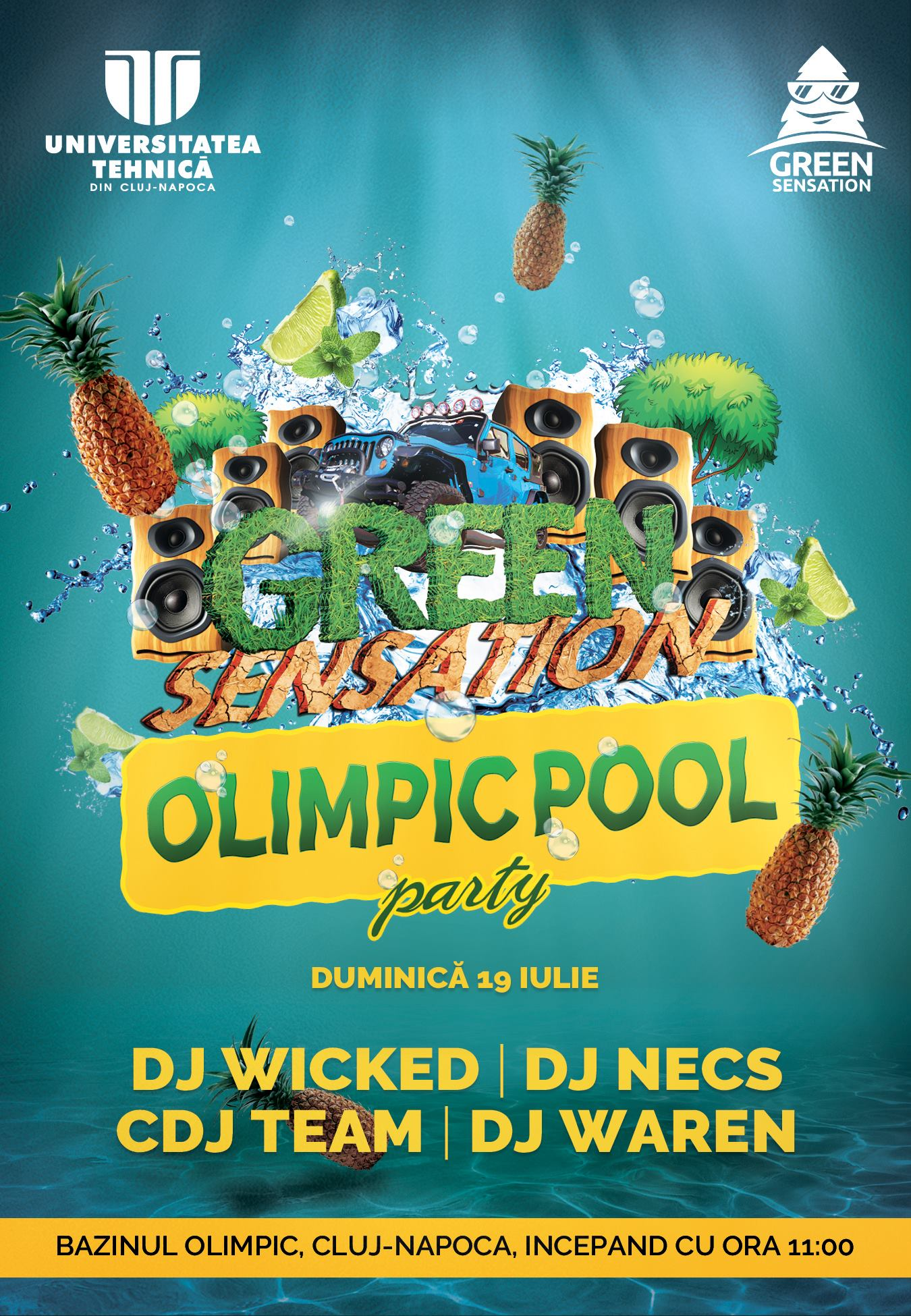 Summer Pool Party @ Bazinul Olimpic