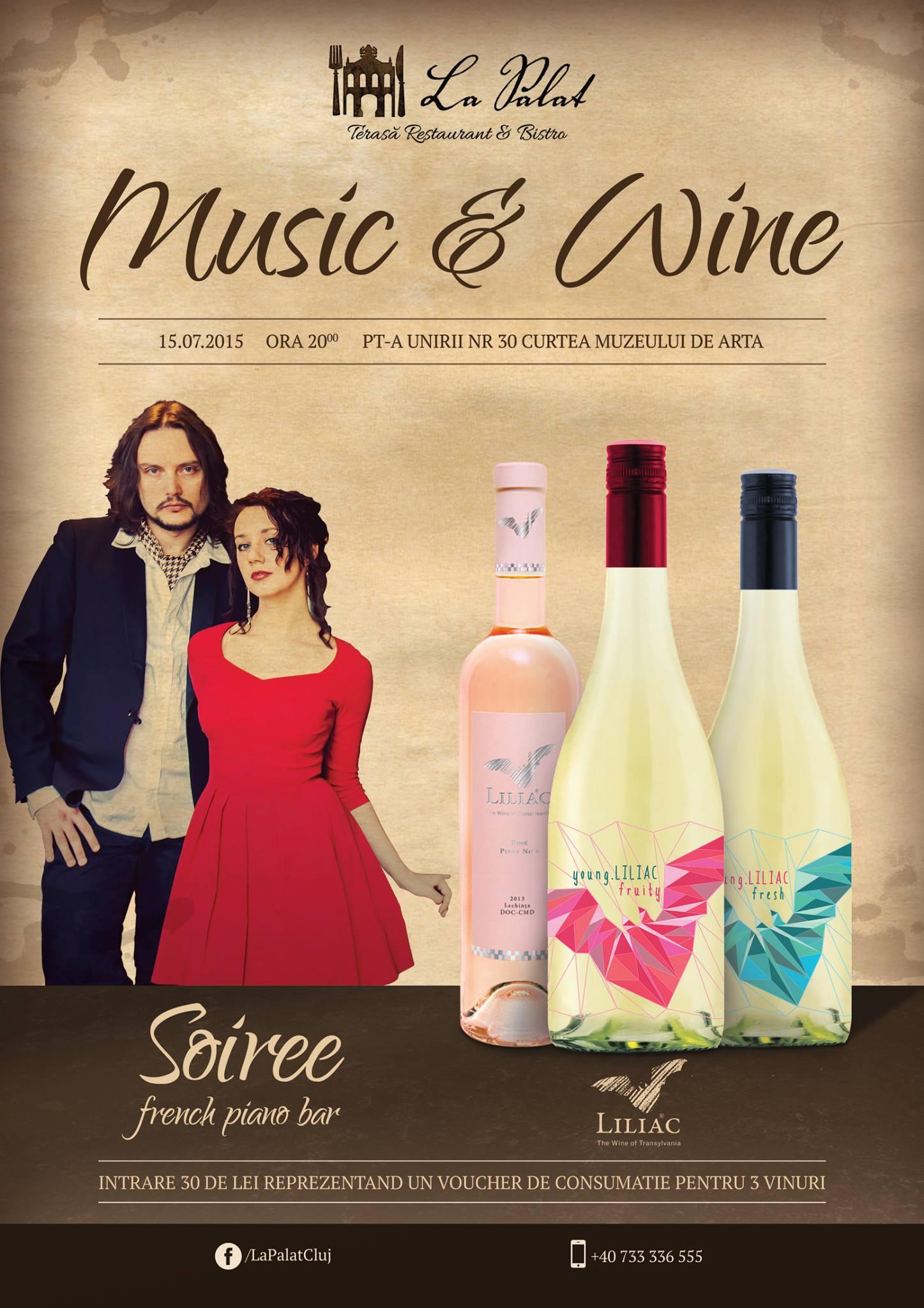 Music & Wine @ La Palat