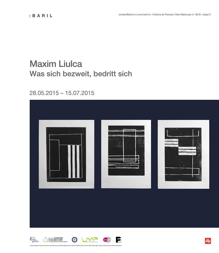 Maxim Liulca: Was sich bezweit, bedritt sich @ Fabrica de Pensule