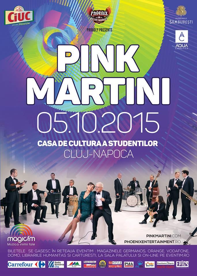 Pink Martini @ Casa de Cultură a Studenților