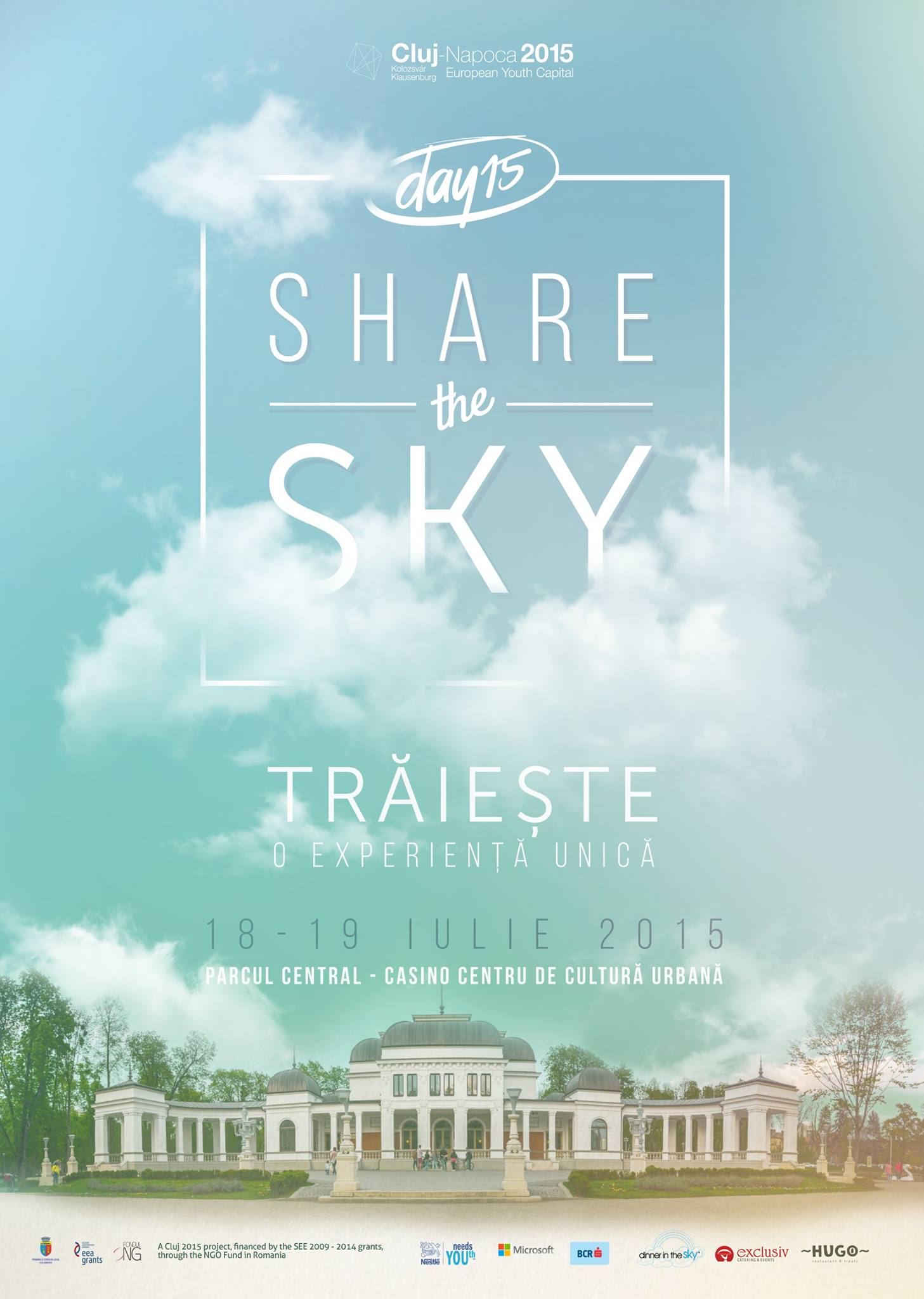 #Day15: Share the sky