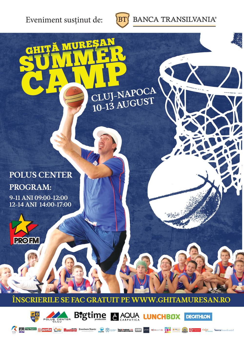 Ghiță Mureșan Summer Camp 2015