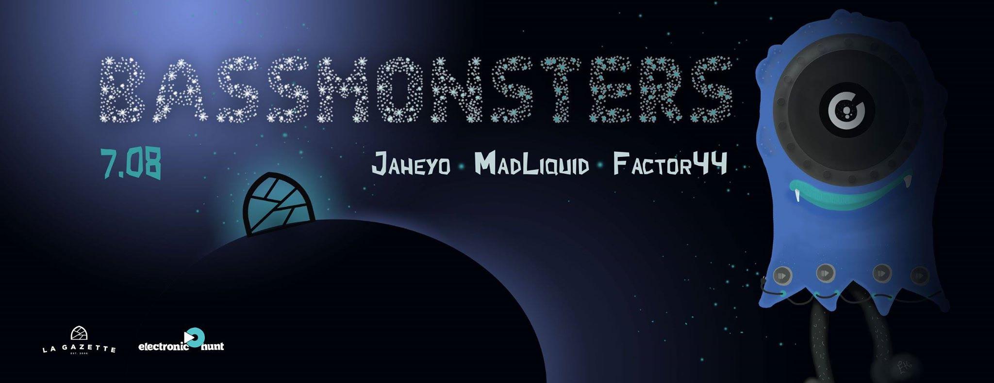 Bass Monsters @ La Gazette