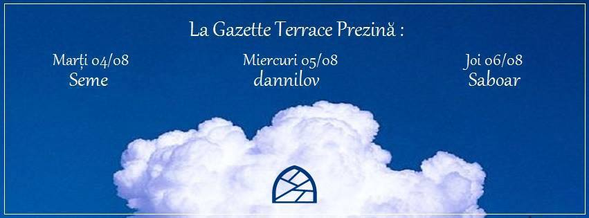 La Gazette Terrace Prezintă