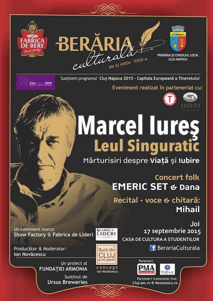 Marcel Iureș @ Berăria Culturală