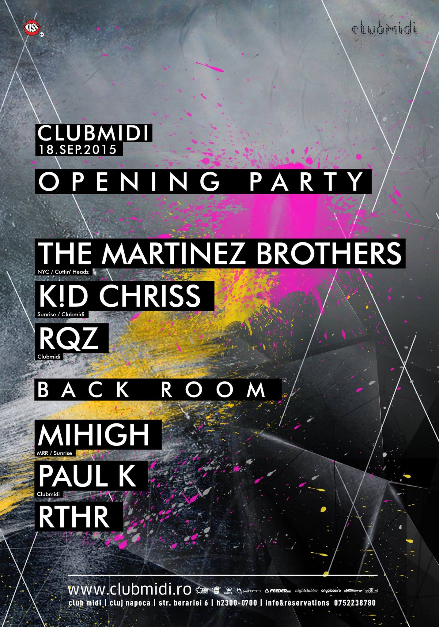 Opening Party w/ The Martinez Brothers @ Club Midi