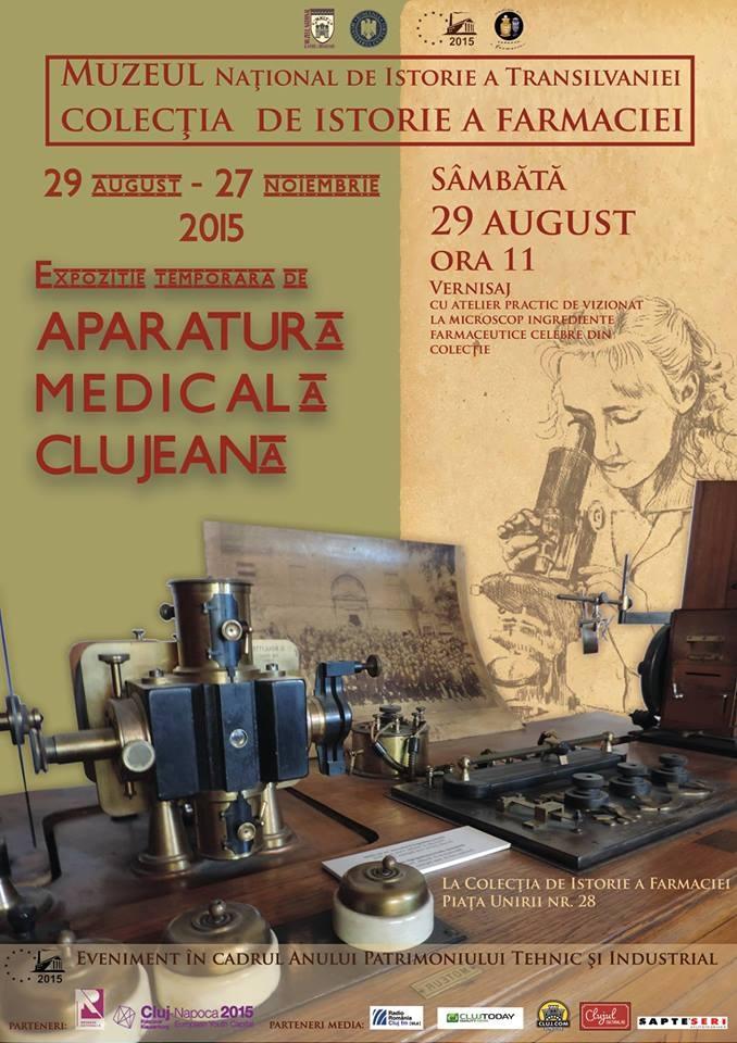 Aparatura medicală clujeană @ Muzeul Farmaciei