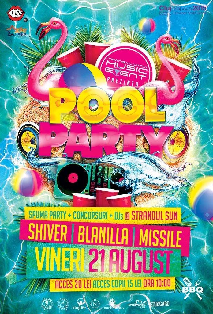 Pool Party @ Ștrand Sun