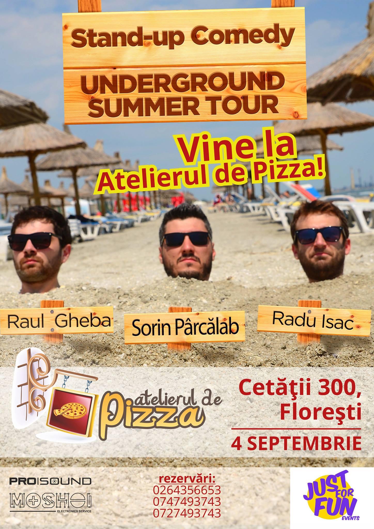 Stand-up Comedy cu Raul Gheba, Sorin Parcalab și Radu Isac