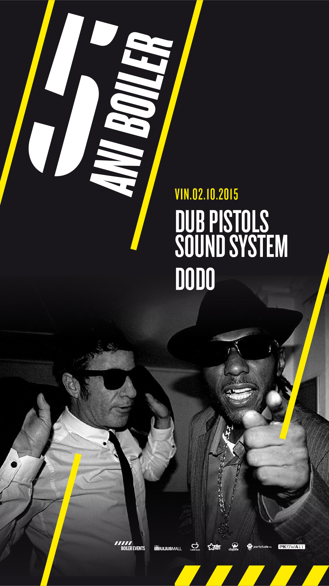 Weekend aniversar w/ Dub Pistols Sound System @ Boiler Club