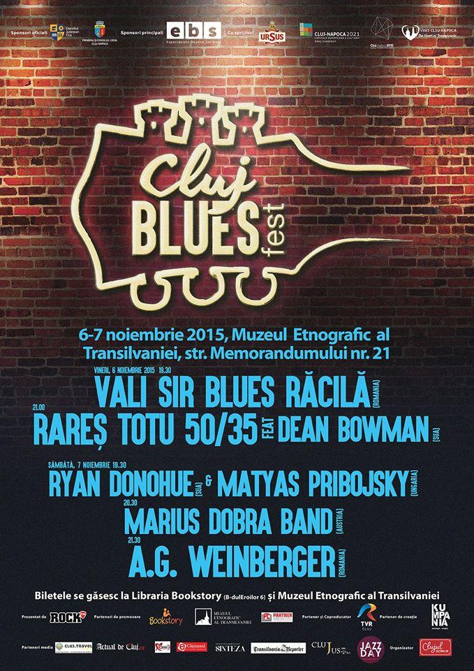 Cluj Blues Fest 2015 @ Muzeul Etnografic