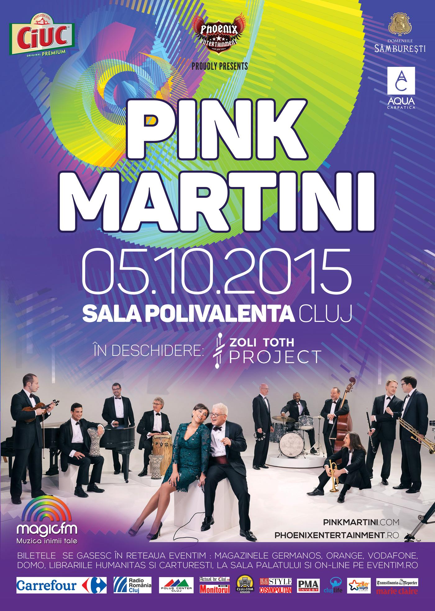 Zoli Toth Project deschide concertul Pink Martini
