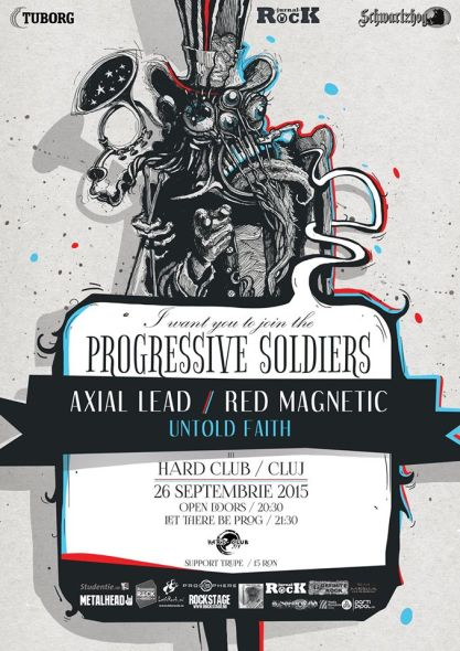 Axial Lead // Red Magnetic // Untold Faith @ Hard Club