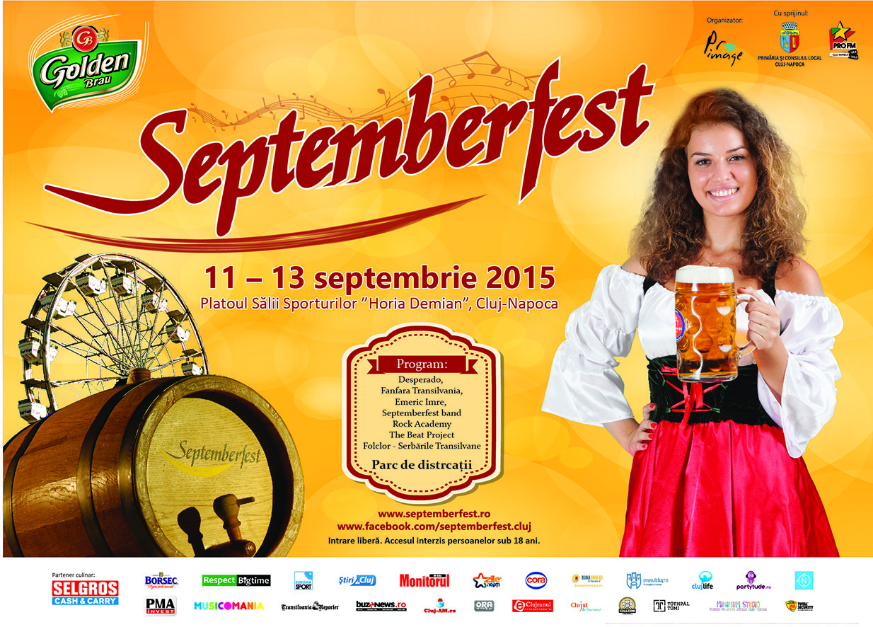 Septemberfest 2015 @ Sala Sporturilor